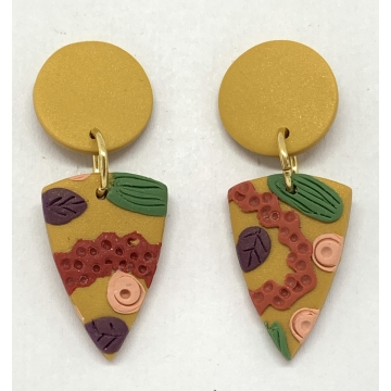 Hold the Anchovies Earrings 2